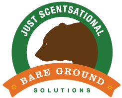 Bare Ground Solutions Just Scentsational Logo