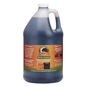 One Gallon Black Bark Mulch Colorant