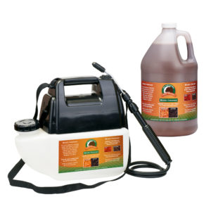 Just Scentsational Bark Mulch Colorant Brown - One Gallon Preloaded Battery Powered Sprayer