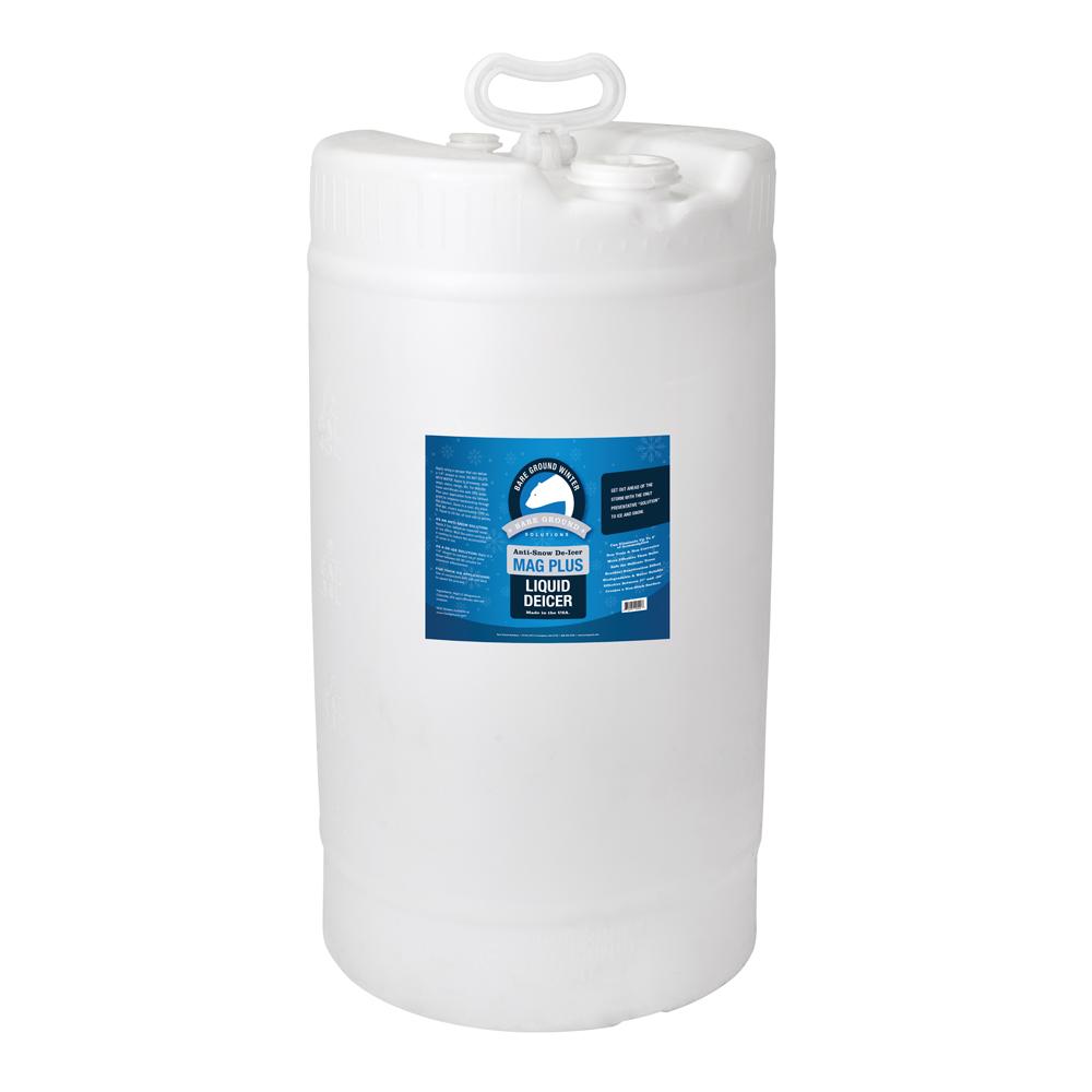Bare Ground Mag Plus Liquid Deicer - 15 Gallon Drum