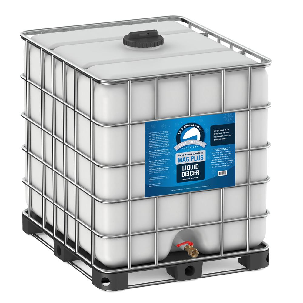 Bare Ground Mag Plus Liquid Deicer - 275 Gallon Palletized Tote