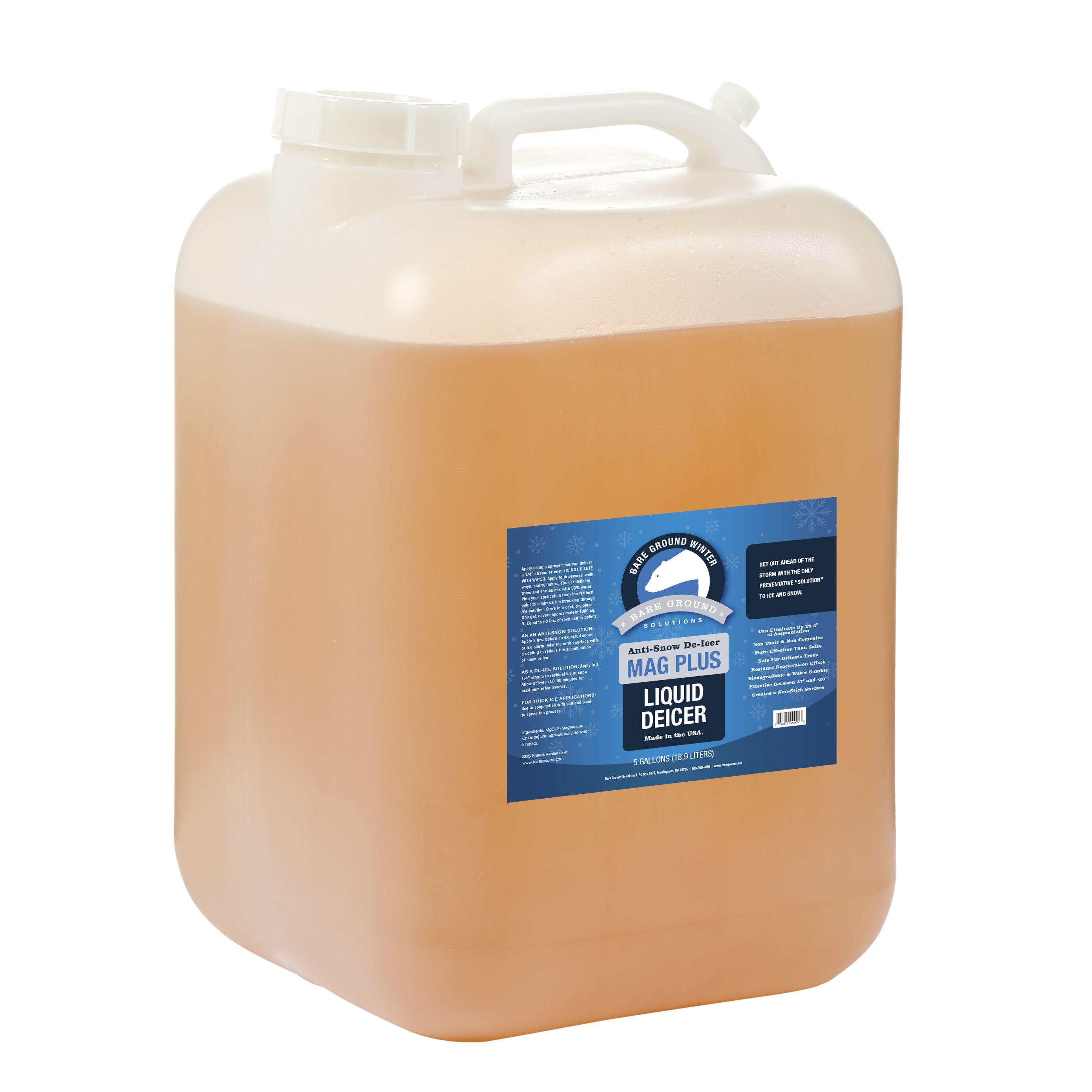 Bare Ground Mag Plus Liquid Deicer - 5 Gallon