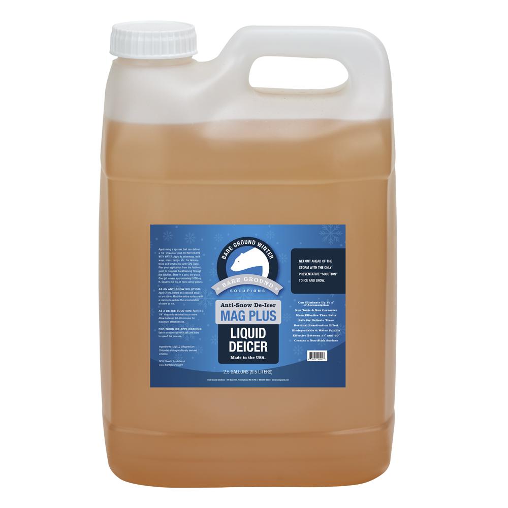 Bare Ground Mag Plus Liquid Deicer - 2.5 Gallon