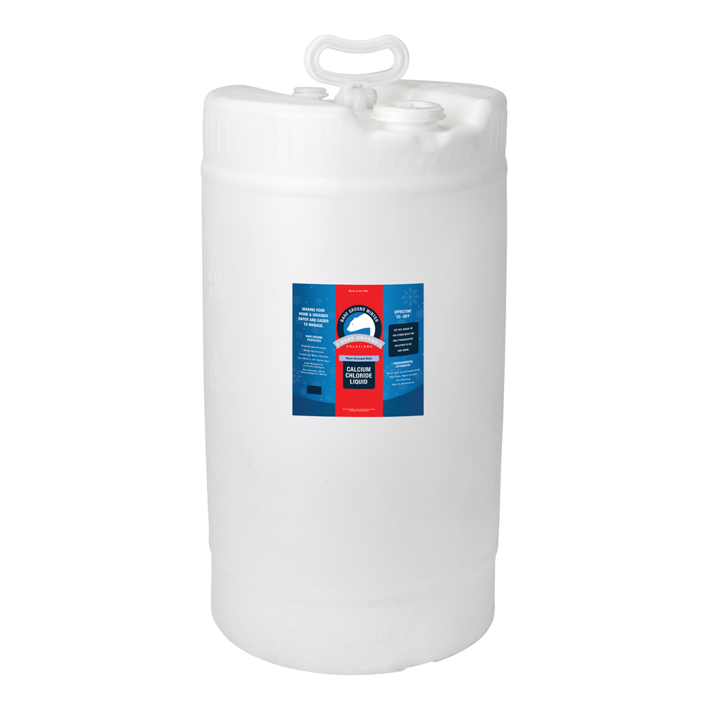 Bare Ground Bolt Liquid Calcium Chloride - 15 Gallon Drum