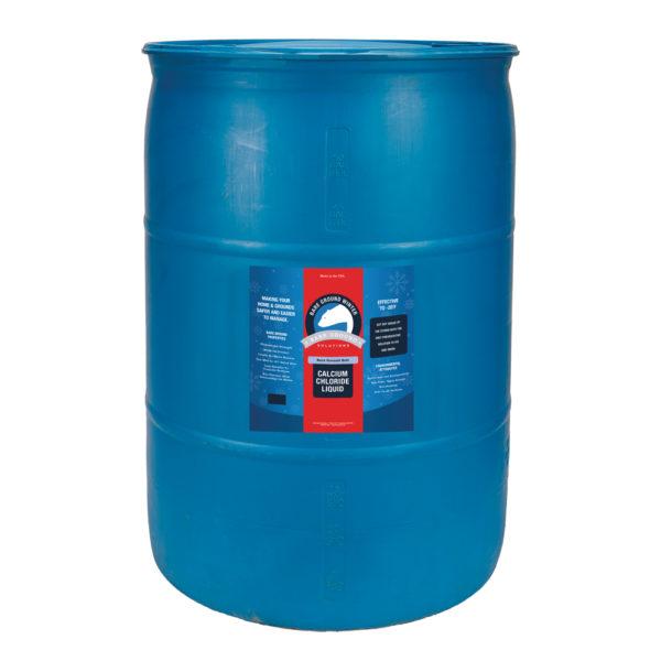 Bare Ground Bolt Liquid Calcium Chloride - 55 Gallon Drum