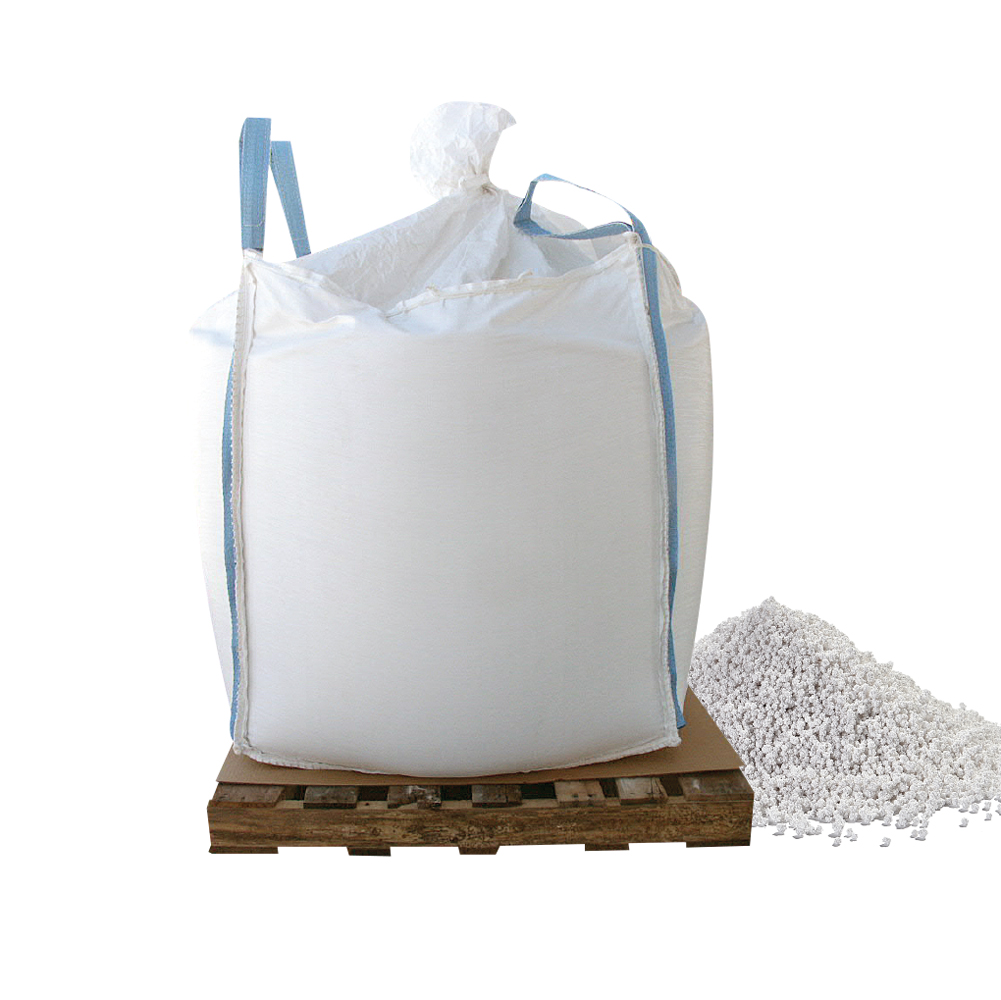 Bare Ground Calcium Chloride Pellets - 1000 LB Skidded Supersack