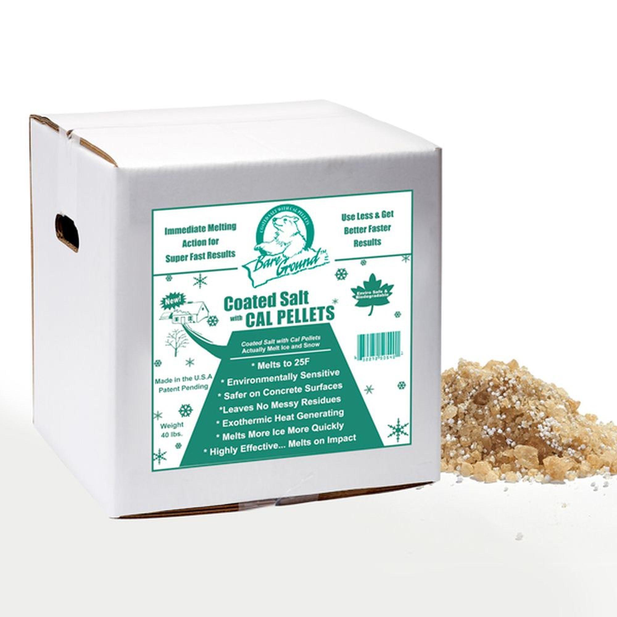 Bare Ground Tri-Blend Granular Ice Melt - 40 LB Box