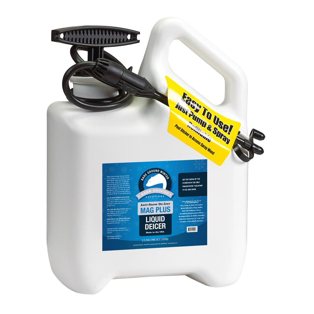 Bare Ground Mag Plus Liquid Deicer with Pump Sprayer