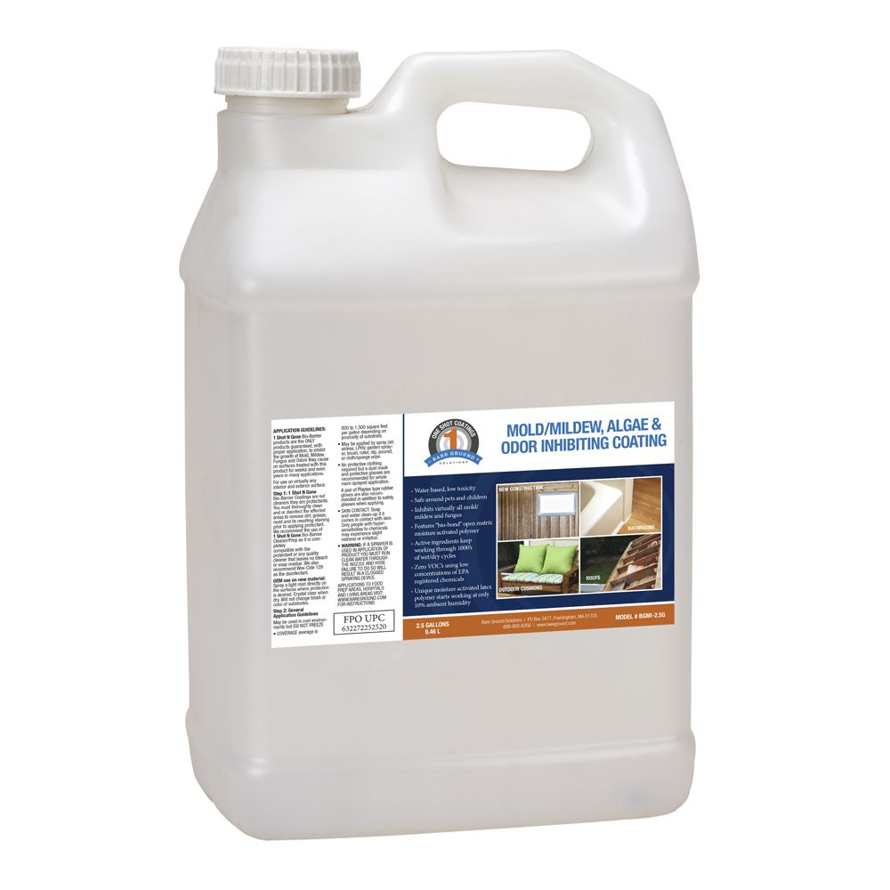One Shot Mold Inhibiting CoatinG - 2.5 Gallons