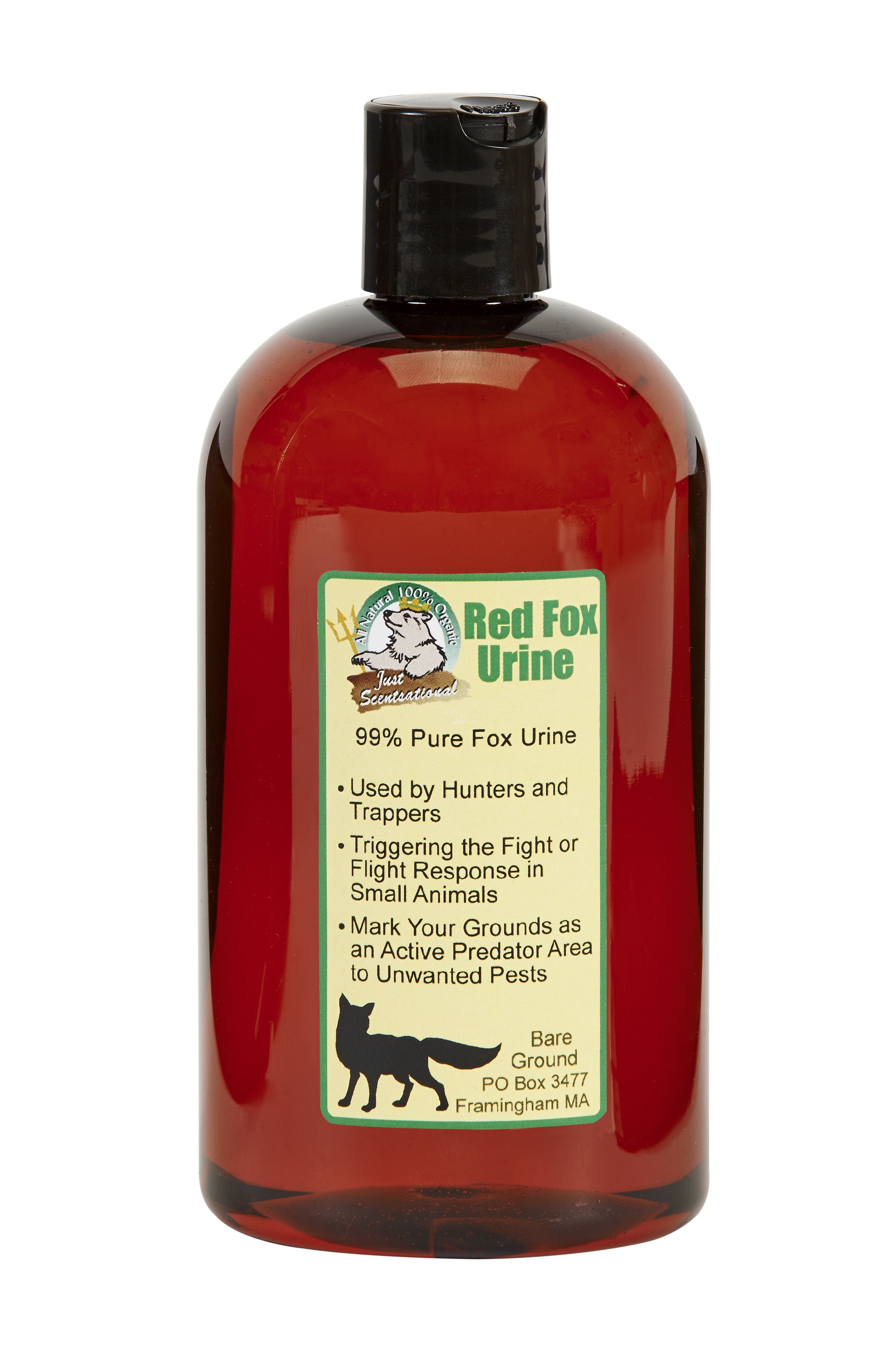 Just Scentsational Fox Urine Predator Scent 16 oz Bottle