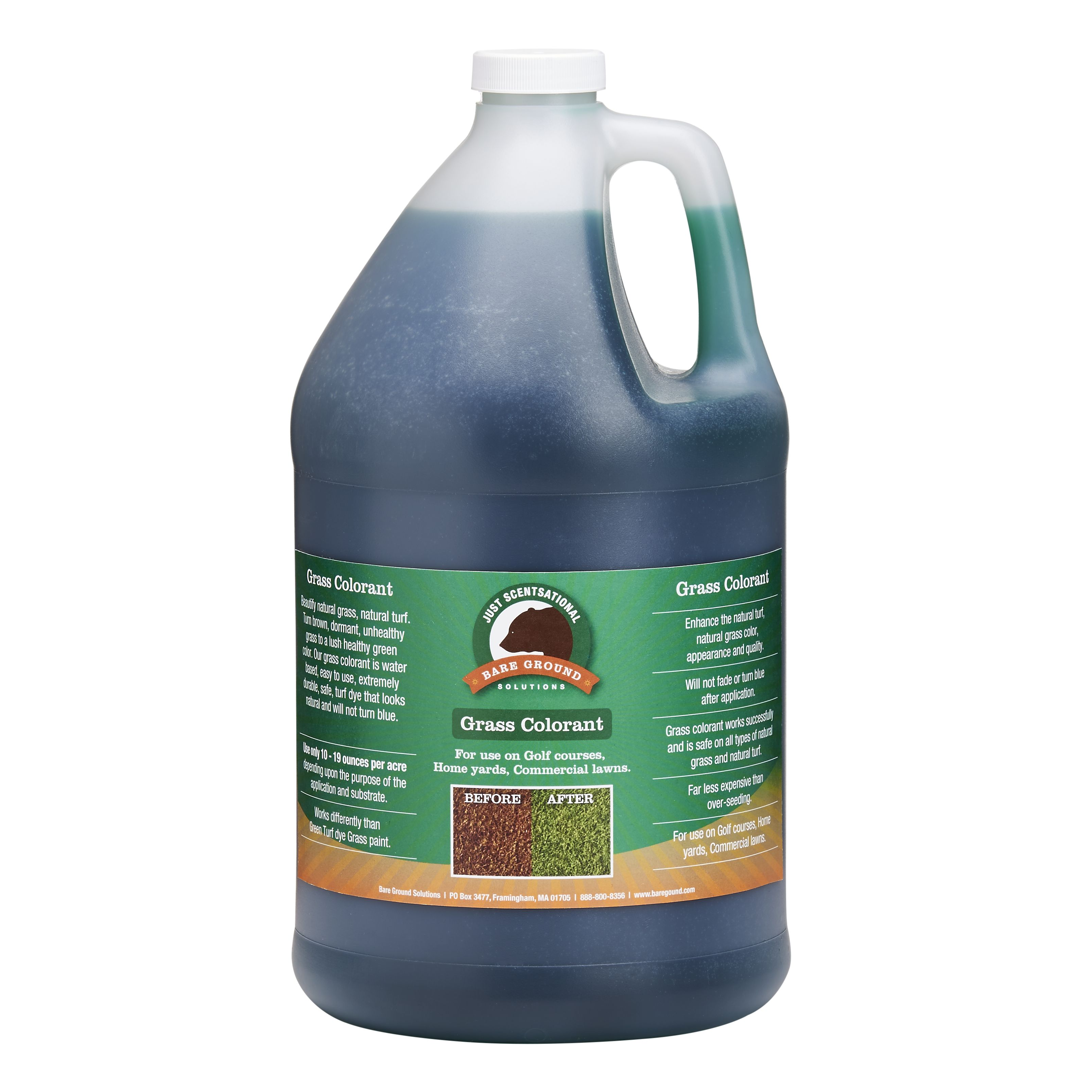 Just Scentsational Green Up Grass Colorant - Gallon