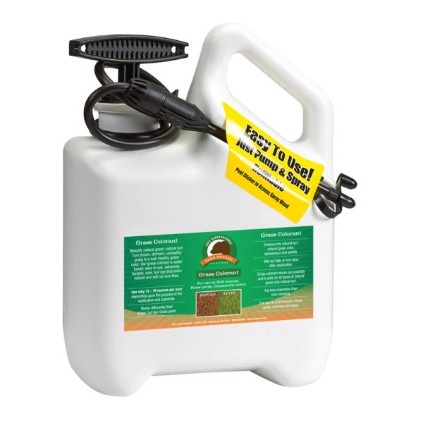 Just Scentsational Green Up Grass Colorant - Gallon Preloaded Pump Sprayer