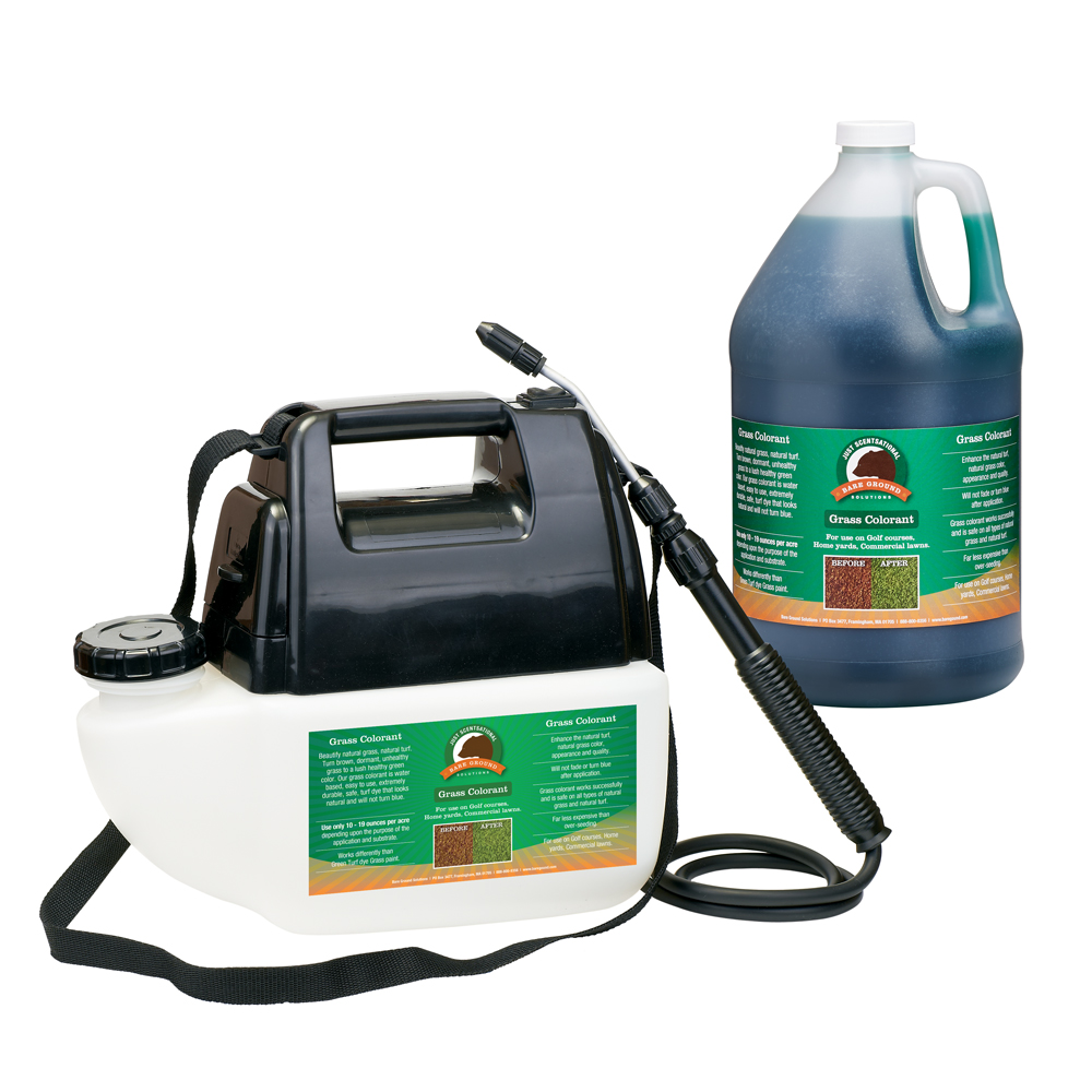 Just Scentsational Green Up Grass Colorant - Gallon Preloaded Battery Powered Sprayer