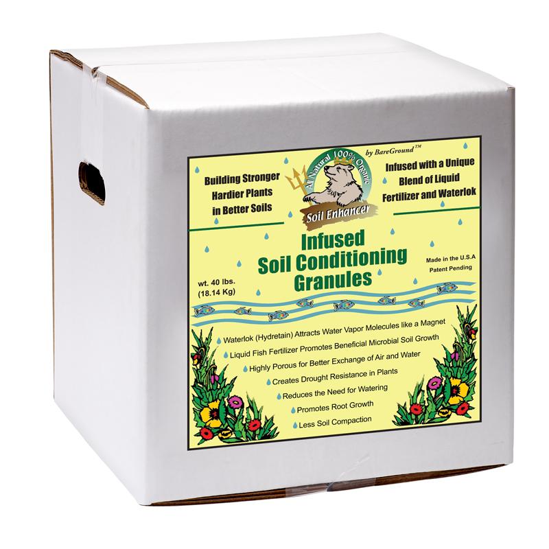 Just Scentsational Trident's Pride Fish Fertilizer 15lb Box Soil Conditioning Granules