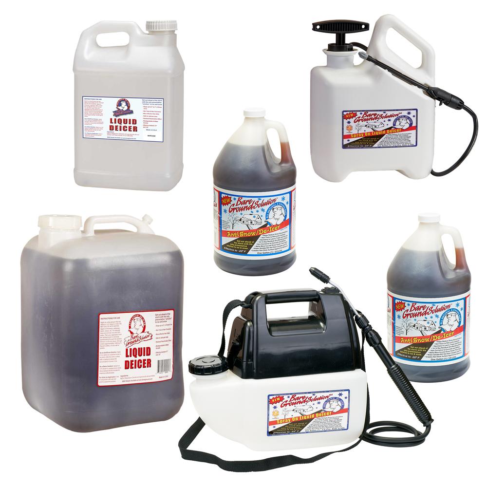Bare Ground Mag Plus Liquid Deicer Products