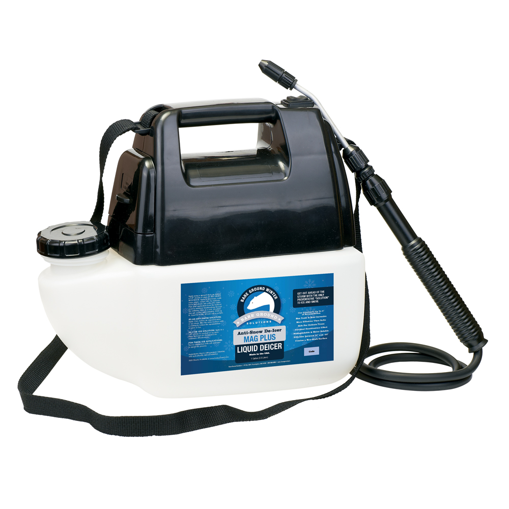 Bare Ground Empty Battery Powered Sprayer